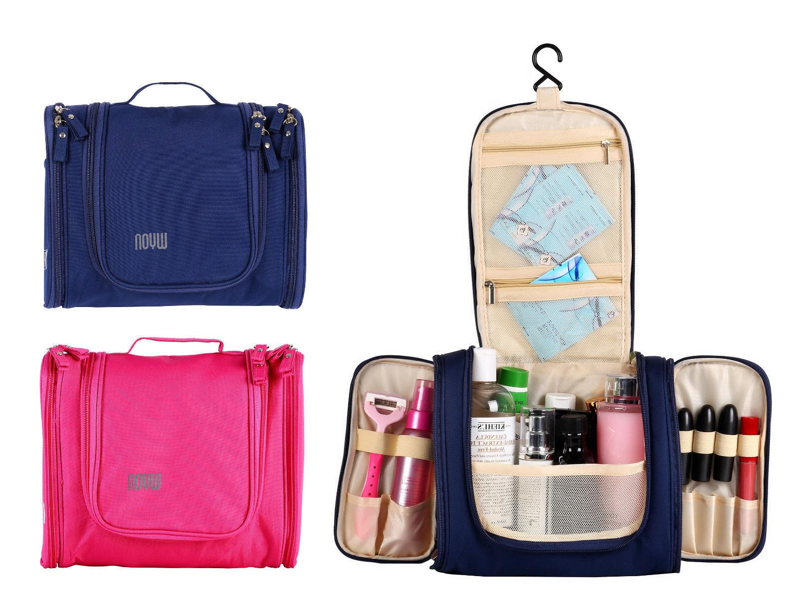 Hanging Toiletry Bag Cosmetic Kit Essentials Organizer