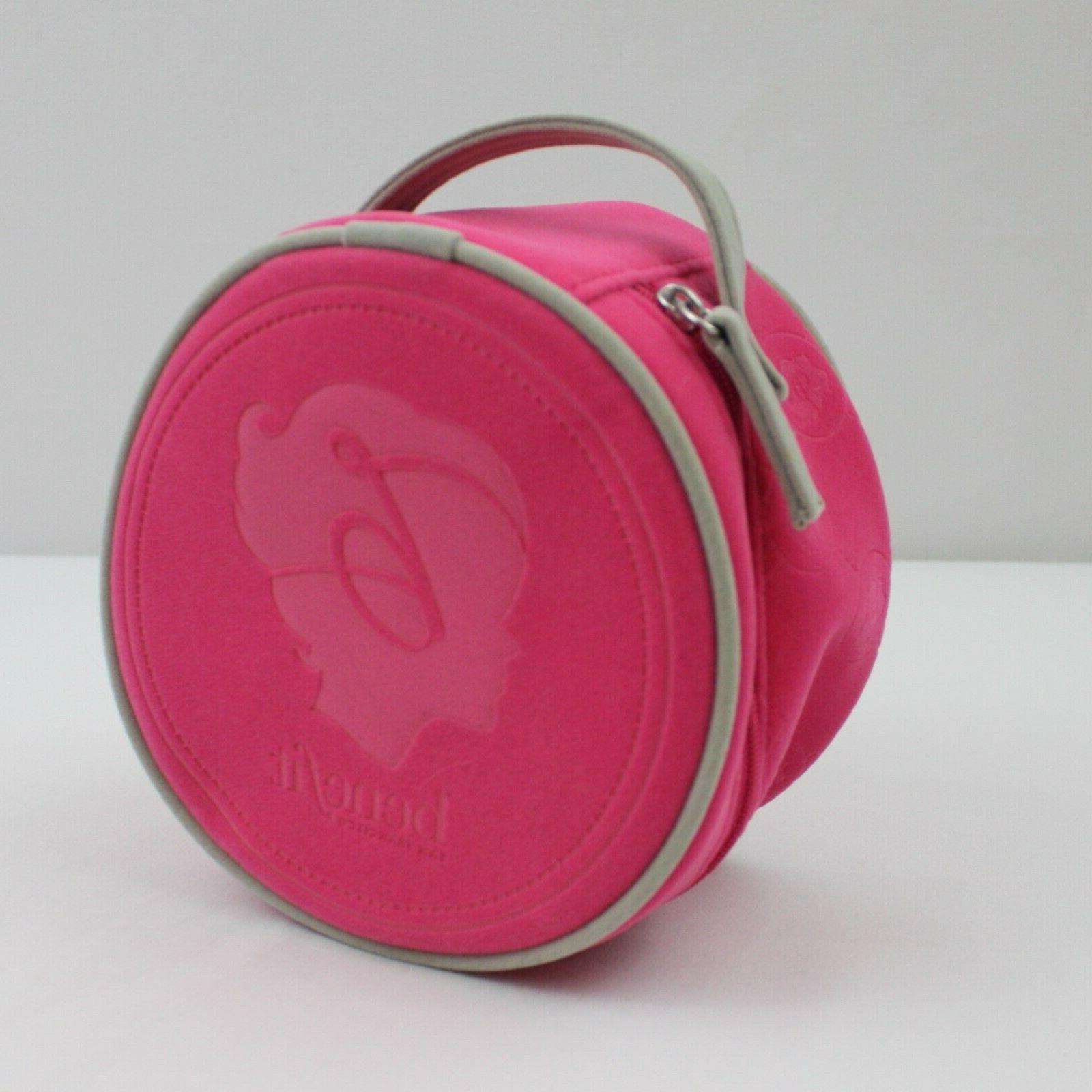 Benefit Round Makeup Cosmetic Pouch