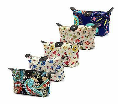 hoyofo women s travel cosmetic bags small