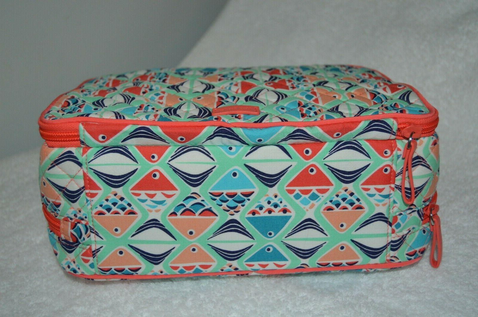Vera Bradley GO FISH Signature & Brush Case