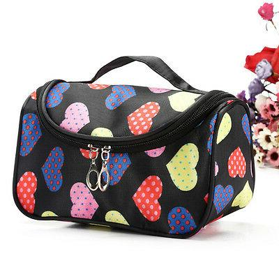 Lady Large Organizer Toiletry Cosmetic Make Up Holder Pouch Wash