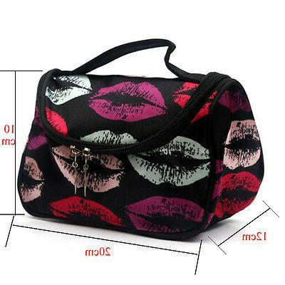 Lady Large Toiletry Make Holder Pouch Wash