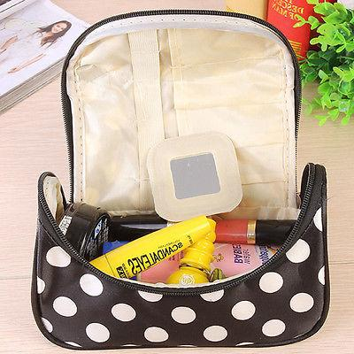 Lady Large Travel Toiletry Cosmetic Make Holder Wash
