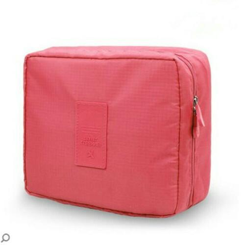 Large Bag Case Cosmetic Handle Travel