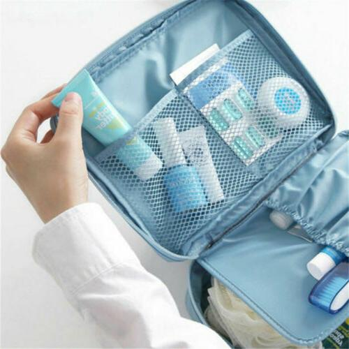 Large Case Cosmetic Case Handle Organizer Travel