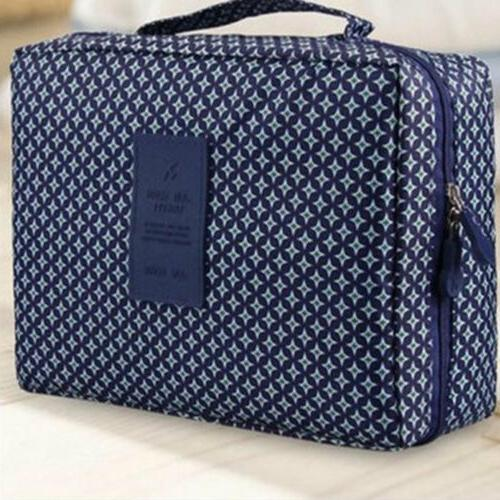Large Bag Case Cosmetic Case Storage Handle Organizer Travel