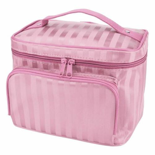Large Cosmetic Makeup Storage Handle Organizer