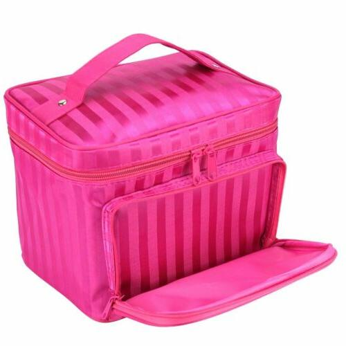 Large Cosmetic Makeup Bag Storage Organizer