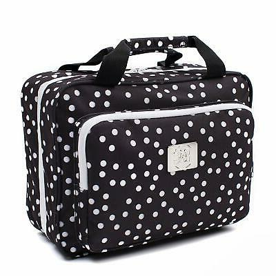 Large Dot Cosmetic Bag - Large Hanging Travel Toiletry And Cosmetic