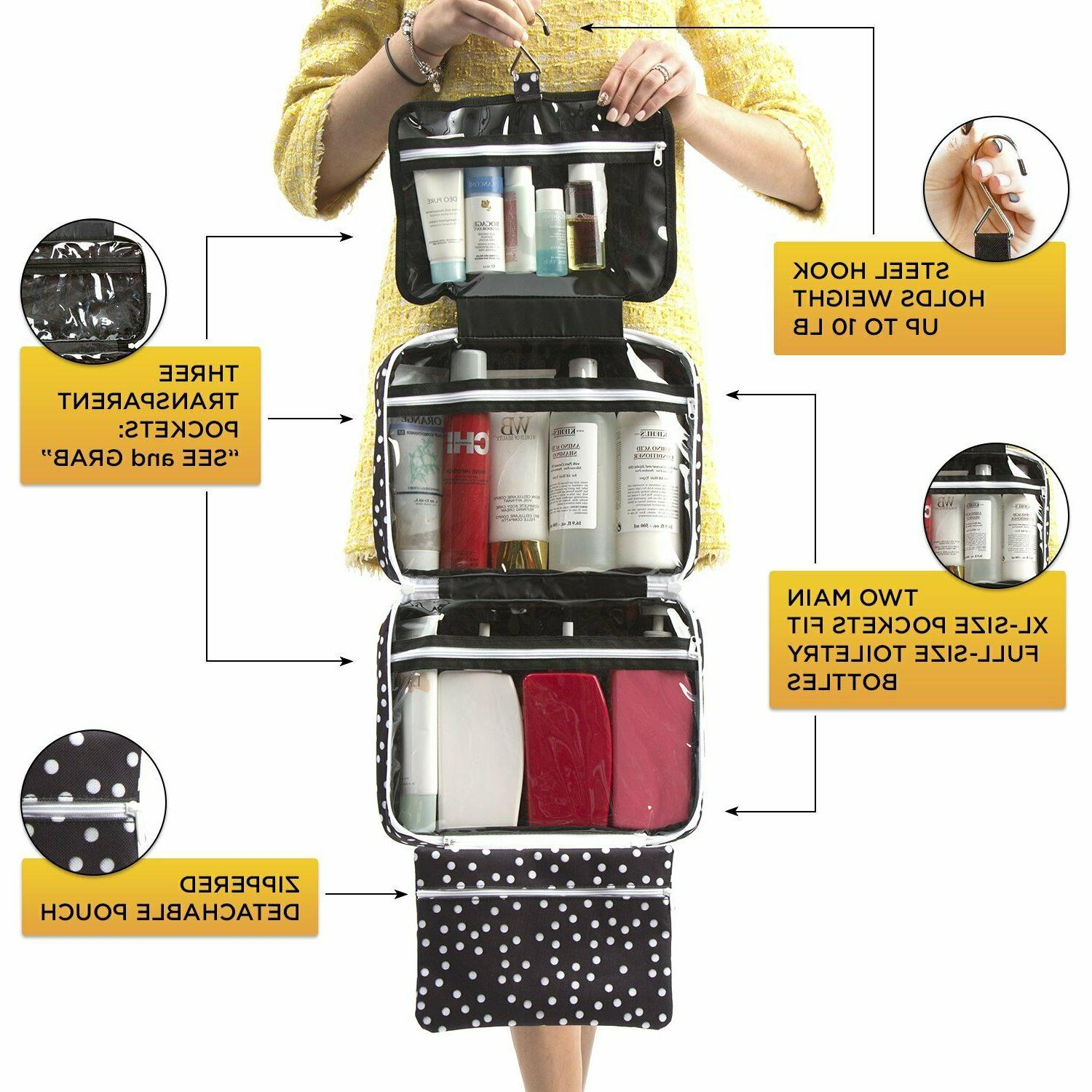 Large Travel For - Hanging Travel Toiletry And Makeup Bag