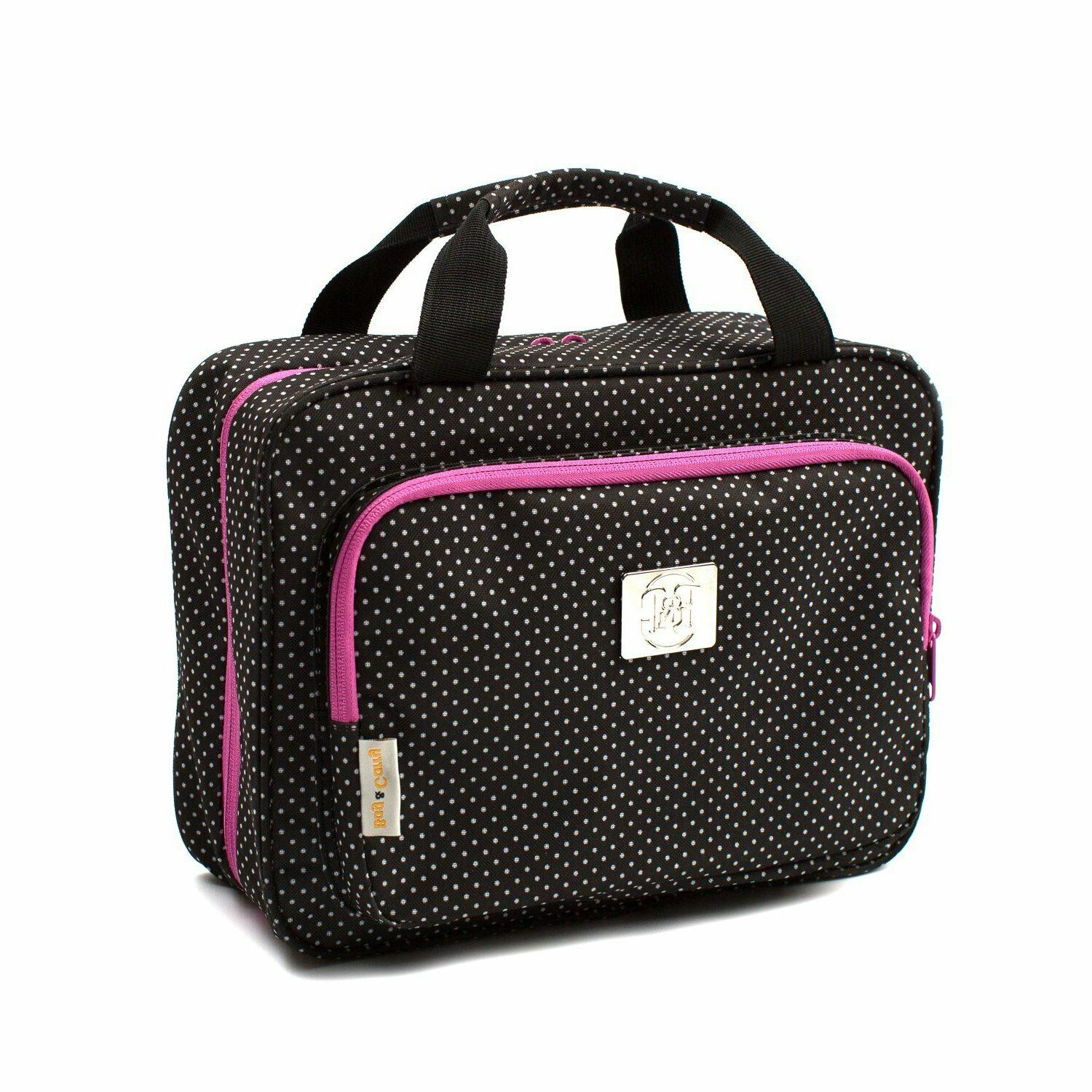 large travel cosmetic bag for women hanging