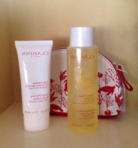 Lot 3 Lotion + Ex-Firming Body Lotion Sea Cosmetic BAG