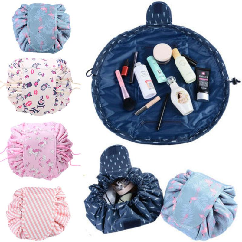 Magic Pouch Drawstring Lazy Makeup Toiletry Bag