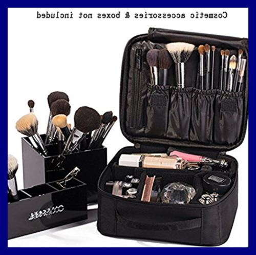 ROWNYEON Makeup Cosmetic Case 9.8''