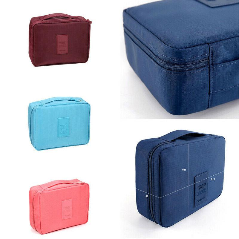 Makeup Cosmetic Pouch Wash Organizer