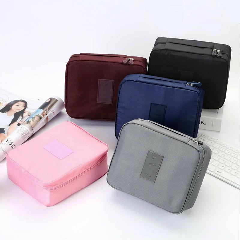 multifunction travel cosmetic bag makeup case pouch