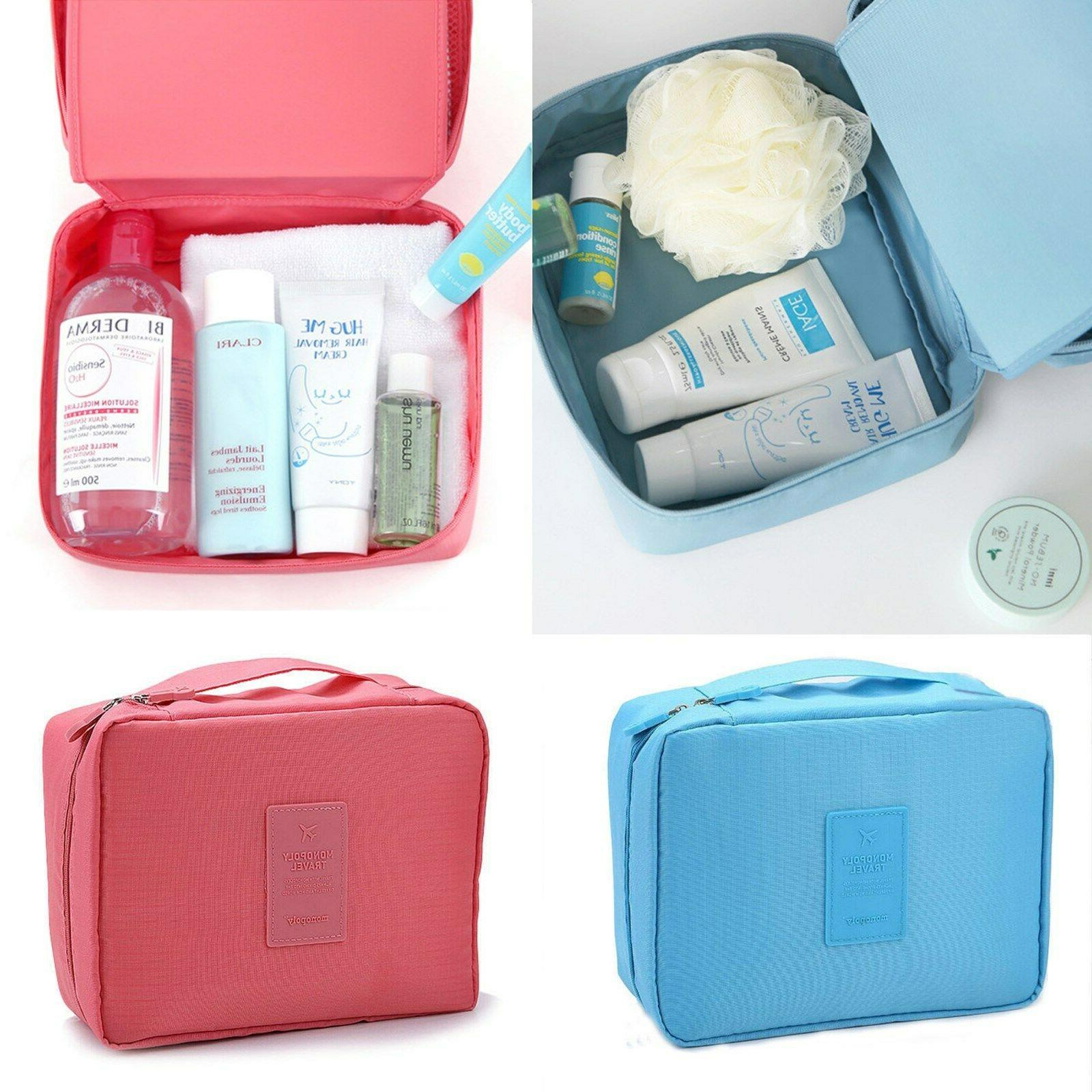 Makeup Cosmetic bag Pouch Wash Organizer