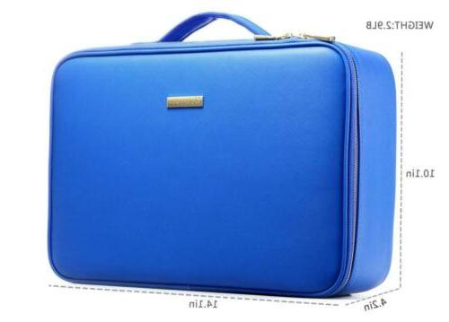 ROWNYEON Bag Cosmetic Train Case Portable