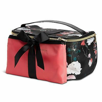 Adrienne Makeup Set: Nylon On Toiletry Cosmetic Case