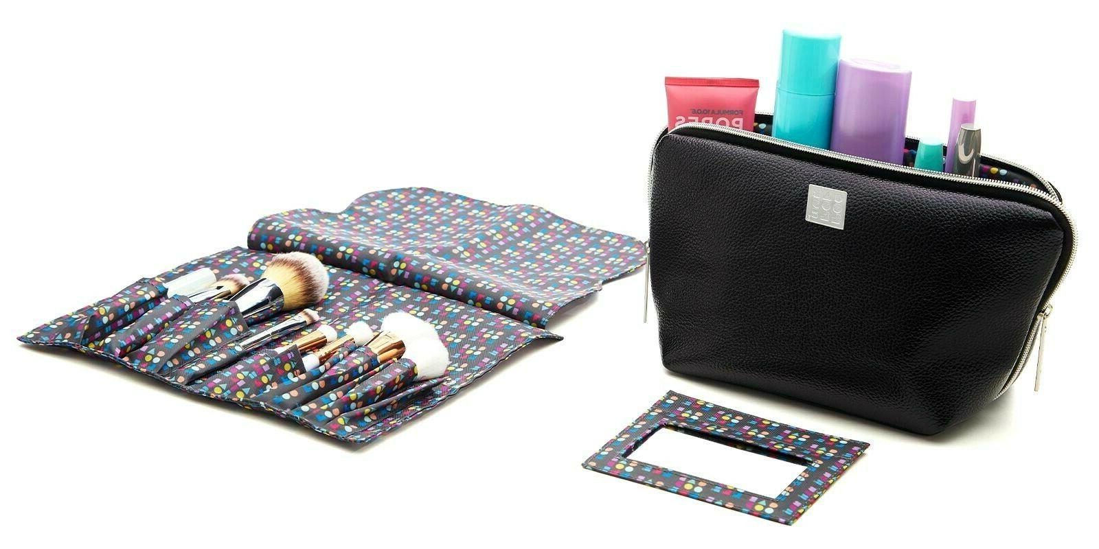 Caboodles Makeup Cosmetic Pouch Travel Train Case