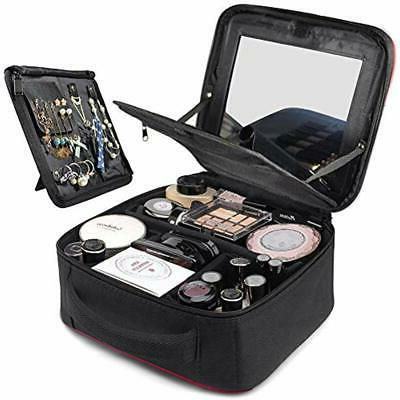 Makeup Train Cases Jewelry Area, For