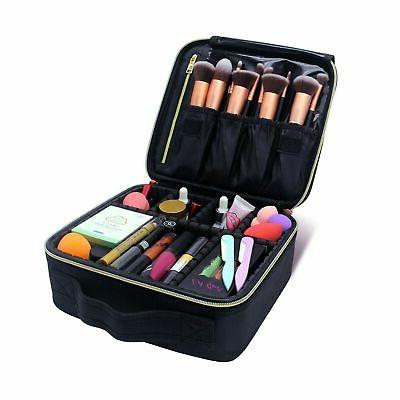 makeup train cases professional travel bag cosmetic