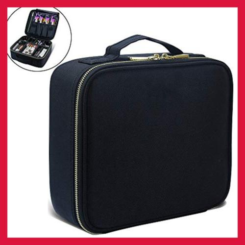 Makeup Train Cases Professional Travel Cosmetic Organizer Portable