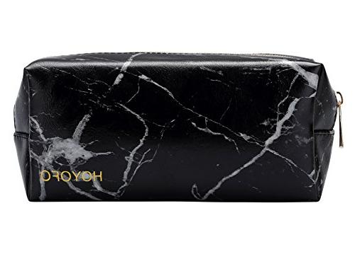 marble pouch bags portable brush