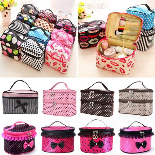 Multifunction Cosmetic Toiletry Wash Storage Case Pouch