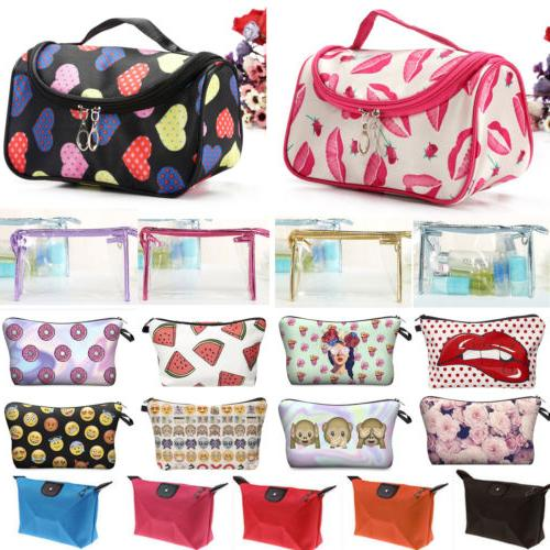 Multifunction Purse Travel Cosmetic Bags Toiletry Storage Pouch