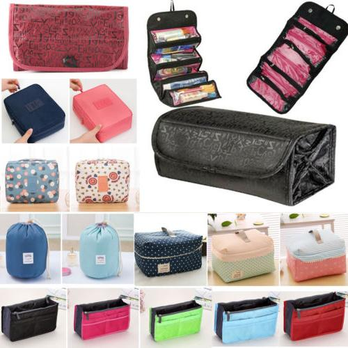 Multifunction Purse Travel Cosmetic Toiletry Storage Case