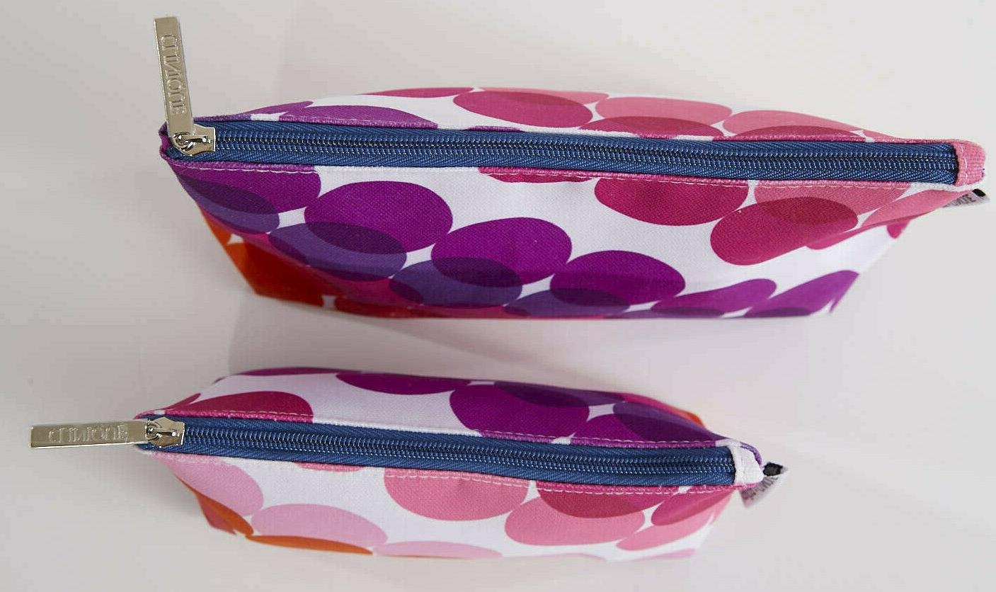NEW Kapitza Makeup Bags Cases PINKS/PURPLE