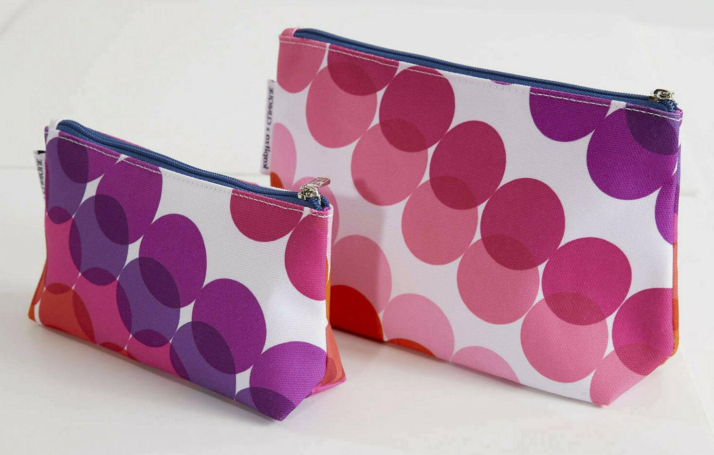 new 2 kapitza cosmetic makeup bags cases