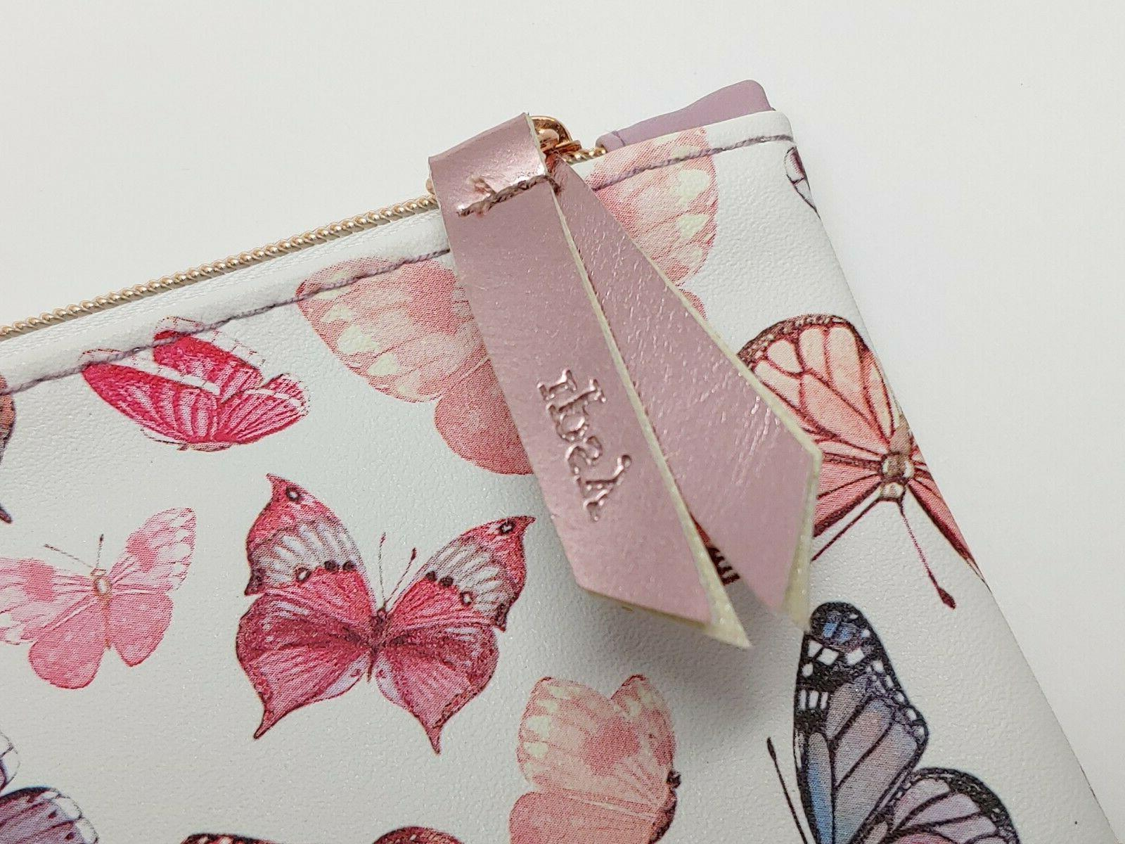 """NEW IPSY Butterfly Cosmetic Bag 7"""" 5"""" ONLY"""
