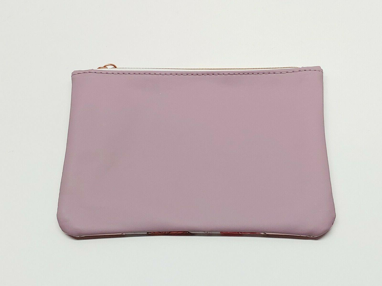 """NEW Butterfly Cosmetic Bag April 7"""" BAG ONLY"""