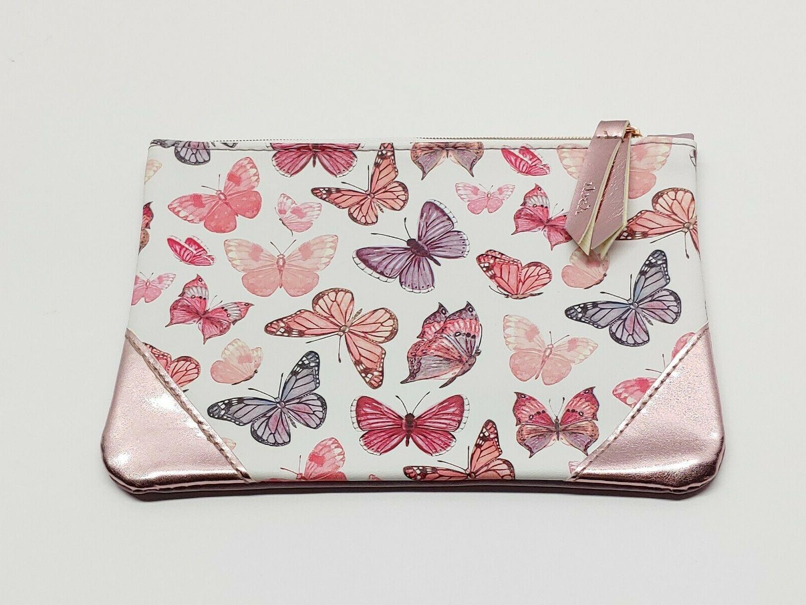 new butterfly makeup cosmetic bag april 2018
