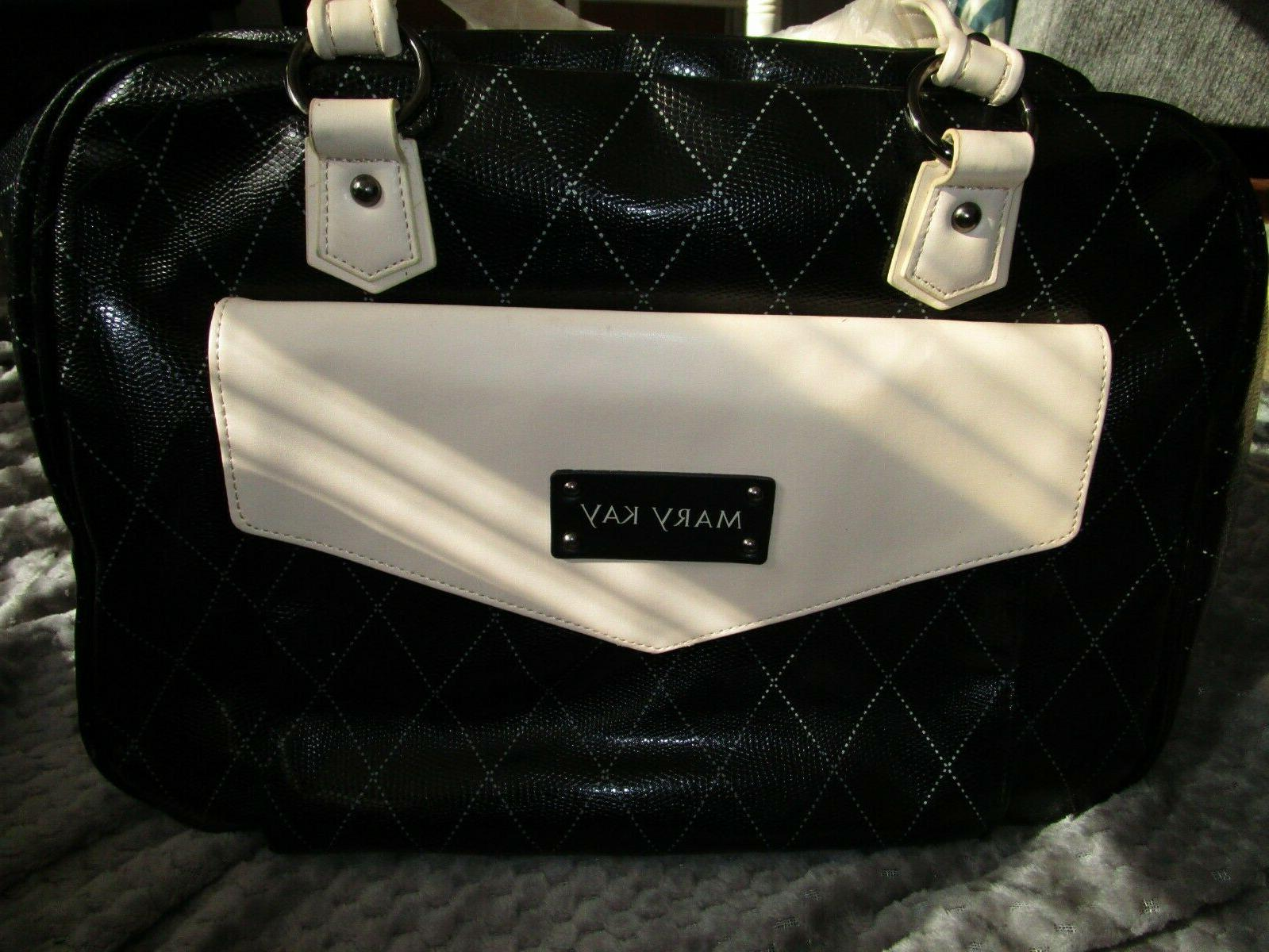 NEW Mary Kay Cosmetic Makeup Bag Case Tote Consultant Organi