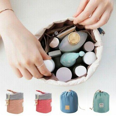 Drawstring Toiletry Bag Lazy Makeup Bag Quick Pack Waterproo