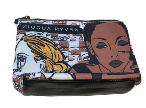 new makeup cosmetic bag clutch canvas zipped