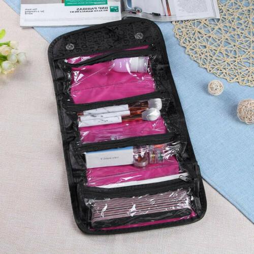 New Travel Cosmetic Bag Toiletry Organizer Storage Case