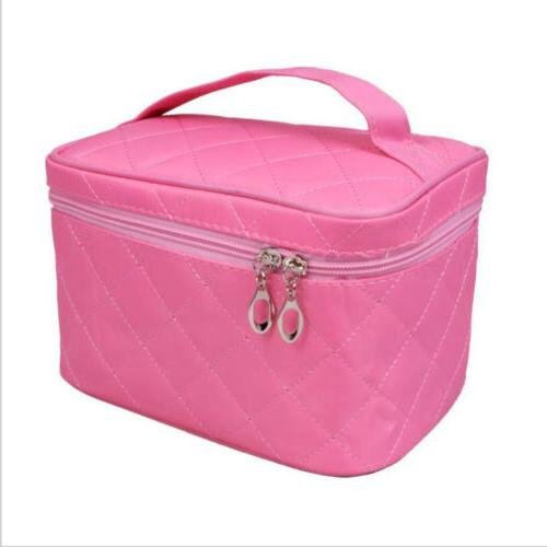 Women Multifunction Travel Pouch Toiletry Organizer Makeup Case