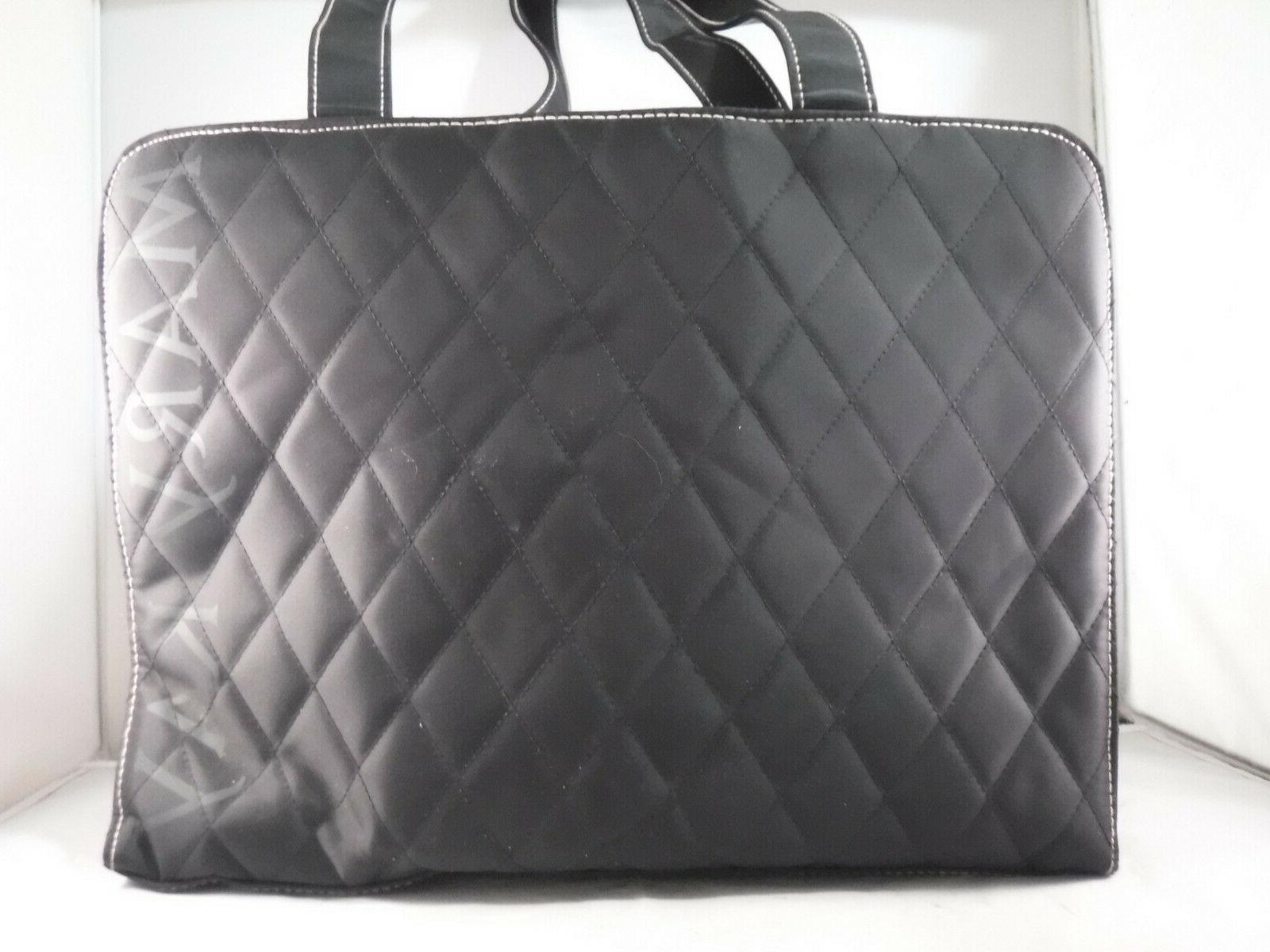 NWOT Mary Consultant Black Quilted Tote