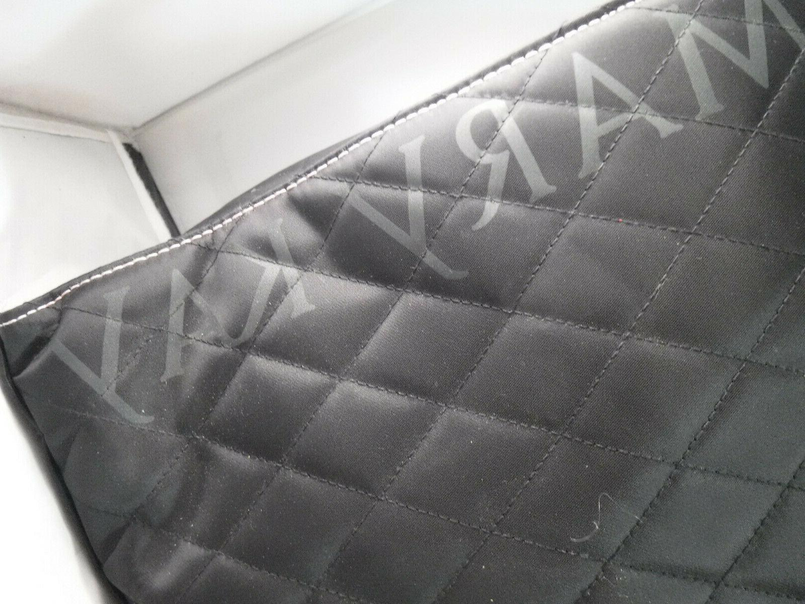 NWOT Mary Makeup Consultant Black Quilted Organizer