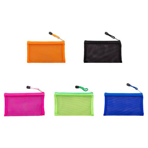 Nylon,Organizer Pouch Stationery Purse Makeup