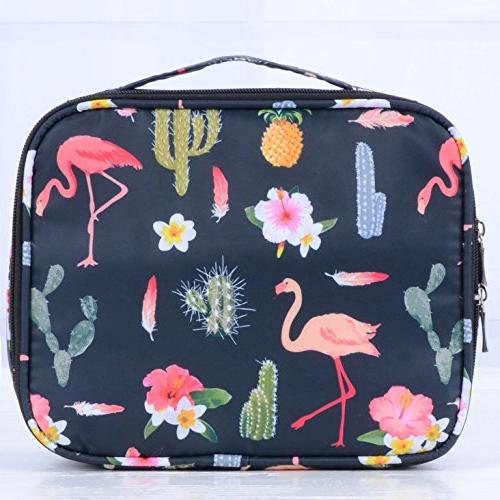 Travel Makeup bags Case Portable Storage Bag Brushes accessories Black