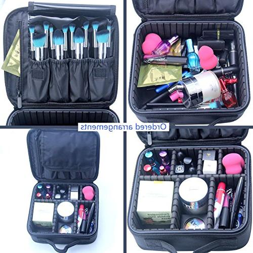 Portable EVA Makeup Jewelry, with Removable Divider