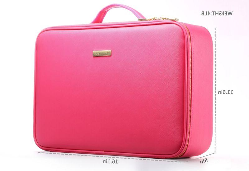 Portable Makeup Case EVA Professional Artist Train Bag 16.14""
