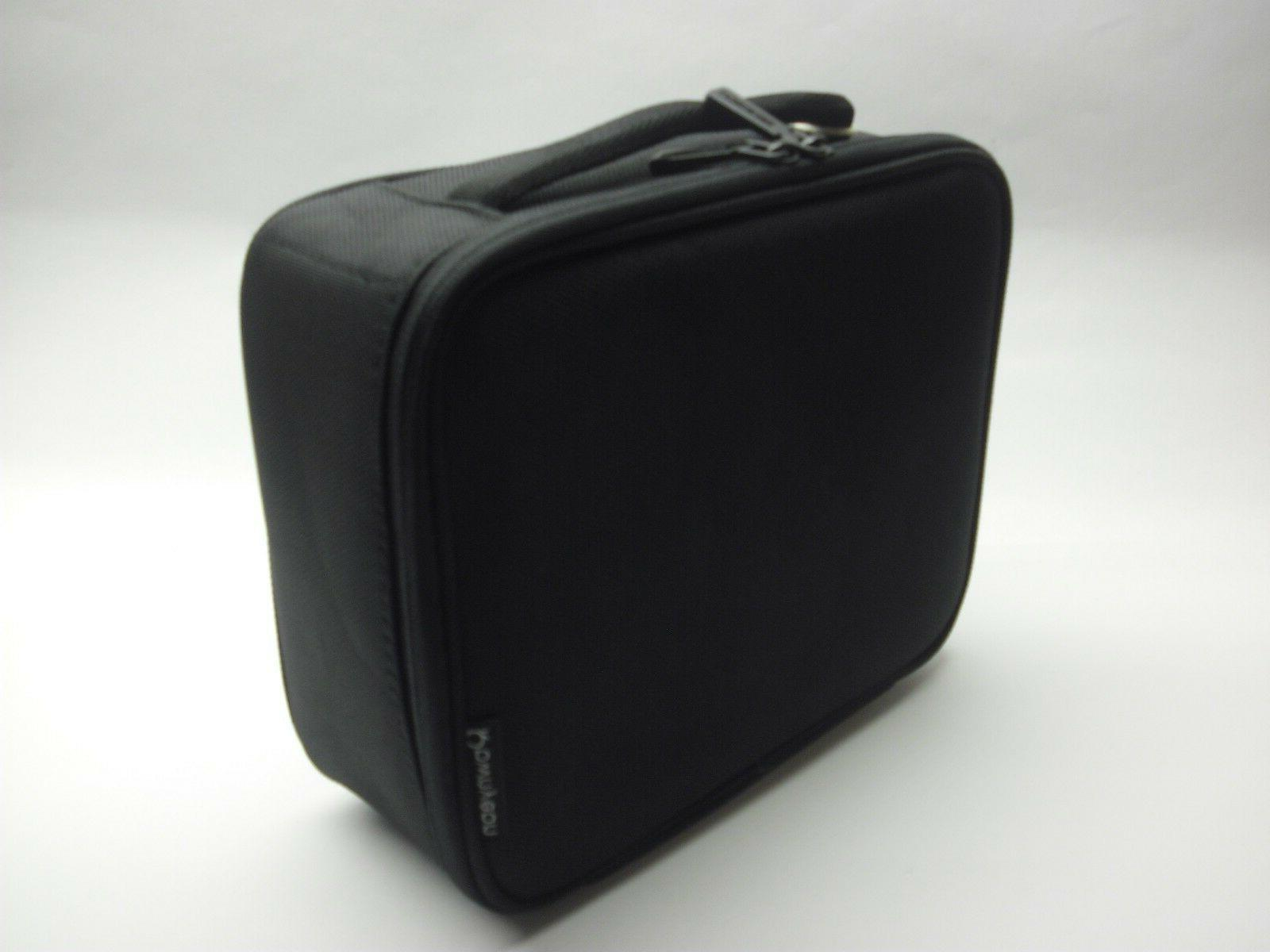 ROWNYEON Travel Makeup Bag Makeup Makeup Train Case 9.8''