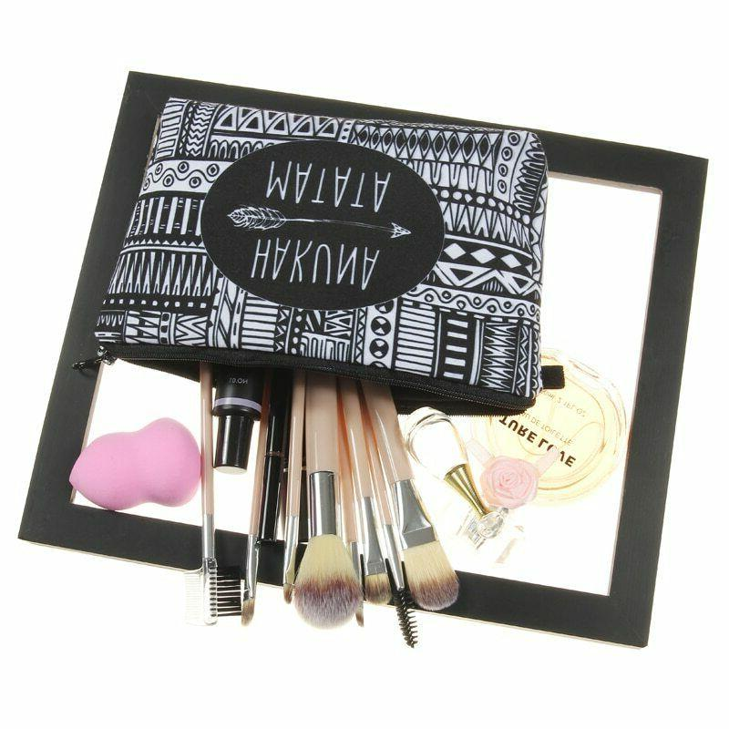 Jom Printing Makeup Bags With Multicolor Cute Cosmetics