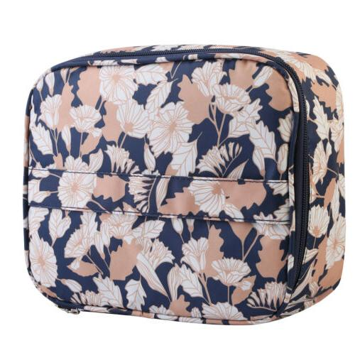 Professional Cosmetic Case Handle Travel Kit US NEW